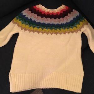 American Eagle Outfitters fair isle sweater.